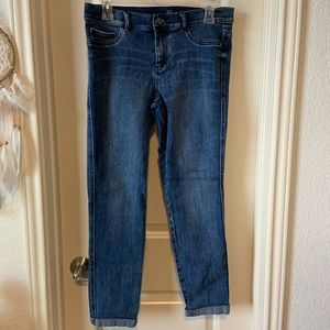 New York & Company Cuffed Ankle Jegging